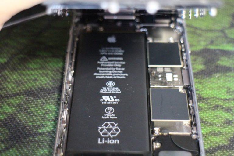 iPhoneの画面割れ修理-バッテリー交換-自分で
