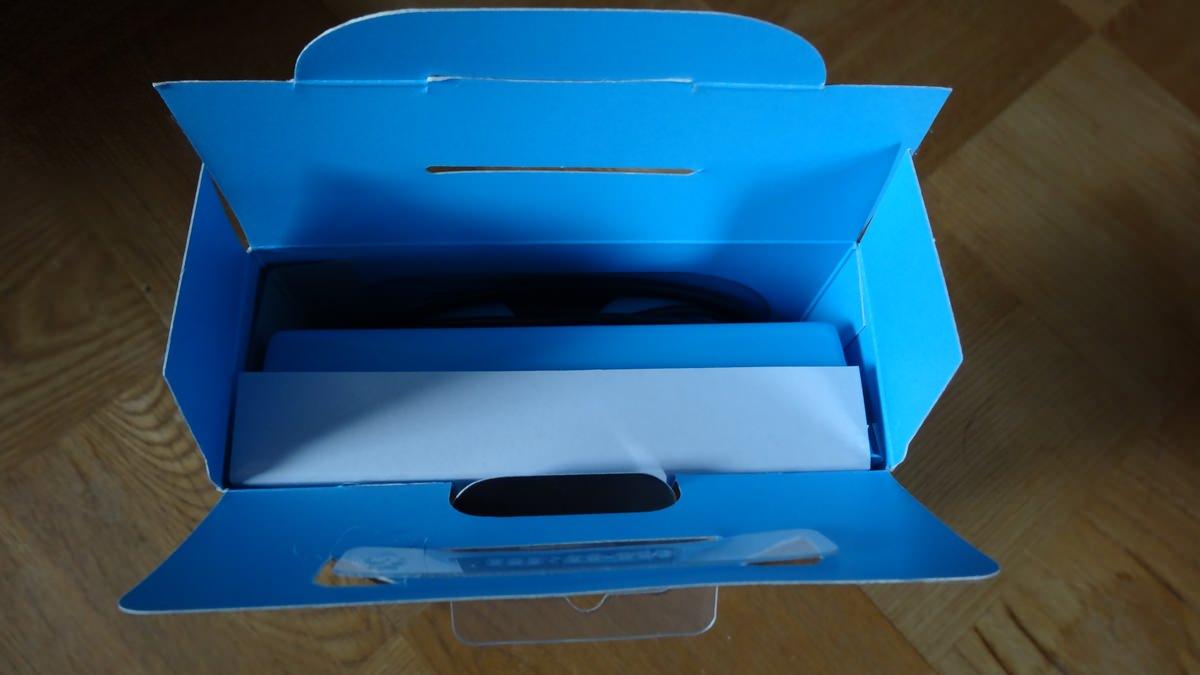 箱の中は真っ青