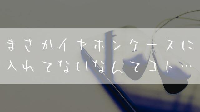 イヤホン_ケース_おすすめ_大きめ