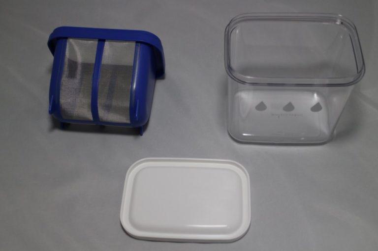 水切りヨーグルトができる容器-2